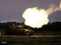 Israeli tank (photo: AP)