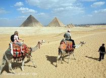 Tourists in Egypt (photo: dpa)