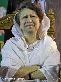 Begum Khaleda Zia (photo: DW)
