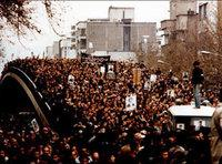 Demonstrations in Teheran, 1978 (photo: AP)