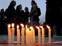 Vigil for the three Christians murdered in Malatya in Istanbul (photo: dpa)