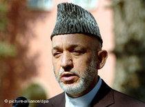 Afghanistan's President Hamid Karsai (photo: dpa)