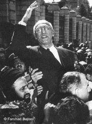 Mohammed Mossadegh during a rally in Iran (photo: Farshad Bayan/DW)