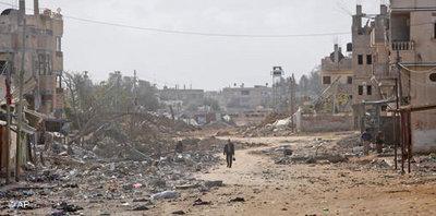 Rafah, Gaza, January 2009 (photo: AP)