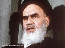 Ayatollah Khomeini (photo: dpa)