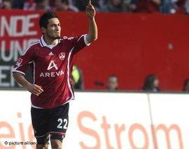 Ilkay Gündogan during his time at 1. FC Nuremberg (photo: picture alliance/dpa)