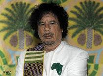 Revolutionary leader, Muammar Gaddafi (photo: AP)