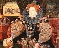 Elizabeth I of England, the Armada Portrait, Woburn Abbey (George Gower, ca. 1588)