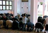 Friday prayers in the new mosque in Wertheim (photo: SWR/Jan Gabriel)