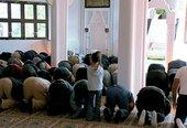 Friday prayers in the new mosque in Wertheim (photo: SWR/Jan Gabriel)