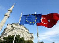 European and Turkish flags (photo: AP)