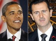 US President Barack Obama and Syrian President Bashar Al Assad (photo: AP)