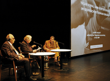 Günter Grass, Yasar Kemal (photo: Stephan Schmidt)