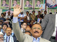Ali Abdullah Saleh (photo: AP)