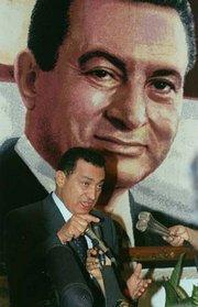 Hosni Mubarak (photo: AP)