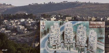 Israeli settlement (photo: AP)