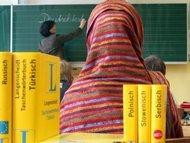 Photograph symbolising migration and education (photo: dpa)