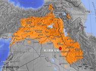 The Kurdish region (photo: GNU/DW)