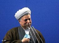Former president Hashemi Rafsanjani (photo: dpa)