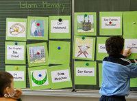Islam lesson in a school in Stuttgart, Germany (photo: AP)