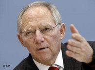 Wolfgang Schäuble, Germany's Minister of the Interior (photo: AP)