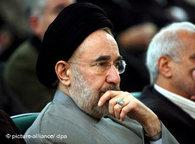 Iran's former president, Mohammad Khatami (photo: dpa)