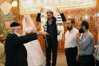 A traditional Jewish wedding ceremony in Iran (photo: AP)