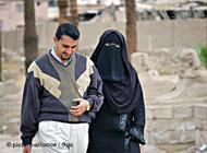 A married couple in Egypt (photo: dpa)