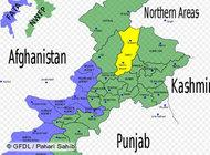 Map of the Swat Valley in Pakistan (photo: GFDL/DW)
