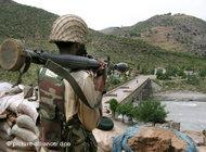 The Pakistani military during an operation against the Taliban in the Swat Valley (photo: dpa)