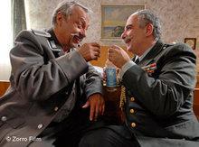 Wolfgang Stumph and Michael Niavarani (photo: Zorro Film/DW)