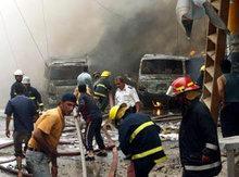 Violence in Baghdad (photo: AP)