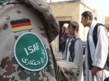 ISAF soldier of the German Armed Forces in Afghanistan (photo: AP)