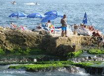Tourists in Lebanon (photo: Birgit Kaspar)