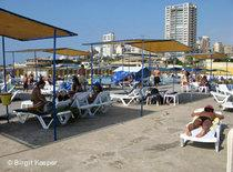 Beach in Beirut (photo: Birgit Kaspar)