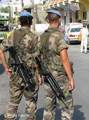 Lebanese military (photo: Birgit Kaspar)