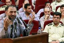 Mohammad Ali Abtahi on show trial in Teheran (photo: dpa)