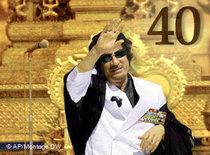 Muammar Gaddafi (photo: AP/ DW)