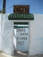 Entrance Cafe Hafa (photo: Wikipedia &copy Creative Commons)