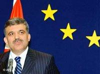 Turkey's Foreign Affairs Minister Abdullah Gül in Brussels (photo: AP)