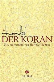 Cover of Hartmut Bobzin's Koran translation (source: C.H. Beck)