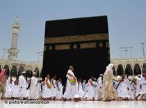Pilgrims in Mecca, Saudi Arabia (photo: picture alliance/dpa)