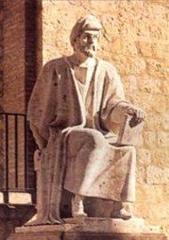 Statue of Averroes in Córdoba, Spain (photo/source: Wikipedia)