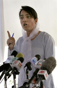 Malalai Joya (photo: AP)