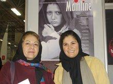 Rakhshan Bani-Etemad with her assistent director (photo: Robert Richter)