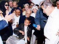 Günter Grass im Jemen, Foto: ap
