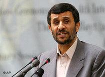 Iran's president Mahmoud Ahmadinejad (photo: AP)