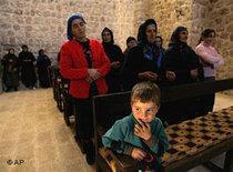 Aramaean children in Haberli, Turkey (photo: AP)