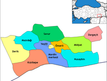 Extract from a map of the Turkish region of Dargeçit (photo: wikipedia.de)