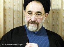 Iran's ex president, Mohammad Khatami (photo: dpa)